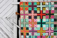 intersection quilt by Film in the Fridge