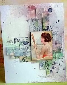 A Second Set of Notecards Mixed Media.
