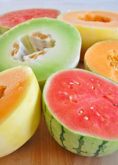 Favorite summer food: melon, My favorite food in summer. I love melon, it is my main food staple when it's hot outside! Fruit Garden, Edible Garden, Organic Gardening, Gardening Tips, Vegetable Gardening, Fruit Recipes, Fruit Trees, Fruits And Vegetables, Fresh Fruit