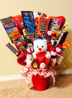 """Made my own """"bro-quet"""" #valentinesday #gifts for #boyfriend"""