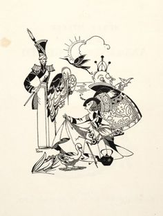 Joyce Mercer. Fairy-tales. (With soldier and stork.)