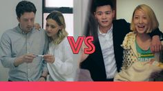 Learn the difference between Chinese and western couples! By MAMAHUHU