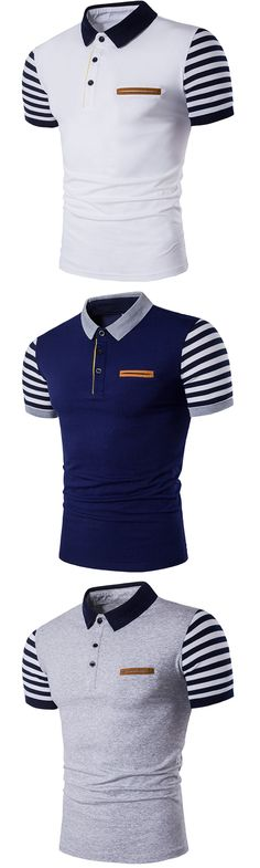 Men's Party Going out Casual/Daily Sexy Simple Street chic Polo