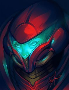 Samus illustration by Avery Coleman
