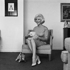Icon of style!  Marilyn Monroe in her custom Ferragamo heels!