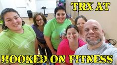 Awesome #TRX Class with 3 first timers!  Way to go ladies... #GroupFitness #PhillyPersonalTrainer http://ift.tt/1Ld5awW Another shot from #HookedOnFitness
