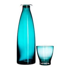 Vaso y botella
