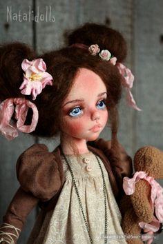 Куклы Натальи Подкидышевой / Изготовление авторских кукол своими руками, ООАК / Бэйбики. Куклы фото. Одежда для кукол
