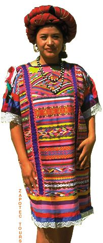 Huipil - traditional dress from mexico