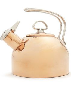 Chantal Copper Classic Teakettle by Sur La Table