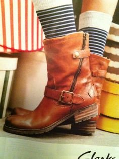 MUSTANG #Damen #Stiefel #braun Im lässigen Cowboy Look