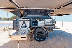 Off Grid Trailers, Bug Out Trailer, Teardrop Trailer Plans, Off Road Camper Trailer, Jeep Tent, Jeep Camping, Expedition Trailer, Overland Trailer, Adventure Trailers