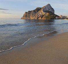 Playa de Levante o La Fossa (Calpe, Alicante)