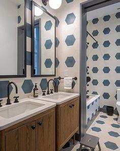 #hexa #tiles = #bathroom love as found via @ashe_leandro - photo: @franparente / #tiletuesday #bathroom #bathroomdesign #tiles #hex #tiled #tilework #ihavethisthingwithtiles #tileaddiction #interiors #interior #interiordesign #interiordesigner #idcdesigners #homedecor #instahome #instadecor #backsplashideas #interiorinspiration #bathroomremodel #bathroomrenovation #hexalove #hexagon #hextile #ihavethisthingwithwalls by tiletuesday