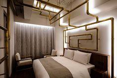 Image by Shinya Kigure Sou Fujimoto, Gunma, Japan Room, Green Tower, Executive Room, French Restaurants, Alvar Aalto, Hotel S, Line Design