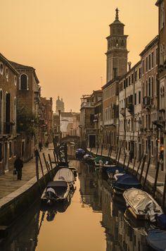 Sunset Canal, Venice
