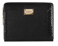 GOT IT AND LOVE IT! Michael Kors gorgeous iPad2 case. also has extra compartment for cell phone, pens & cards, so this can really work as a whole purse! $149.95 Why a power businesswoman would buy other case is beyond me!