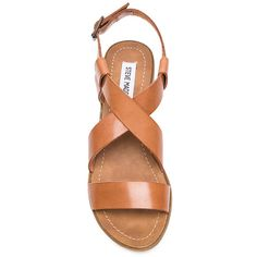 Steve Madden Lorelle Sandal Shoes (€70) ❤ liked on Polyvore featuring shoes, sandals, steve madden footwear, steve-madden shoes, steve madden sandals, mid-heel shoes and mid heel sandals