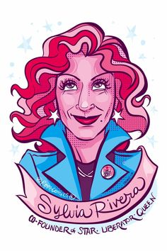 Day 7 Sylvia Rivera, iconic trans activist was active in many civil rights & liberation orgs, participated in Stonewall Riots (along with friend Marsha Johnson, who appeared in the first 100 women) tireless advocate for homeless. Mr Robot, Rejected Princesses, Sylvia Rivera, Rihanna, Trans Activists, Stonewall Riots, Trans Art, Women Poster, Riot Grrrl
