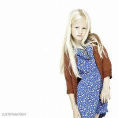 Bellerose ss 2014 kids  flower print dresses #kidsfashion
