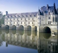 Chenonceau Castle, 16th century  Loire Valley, France
