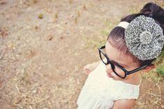 Ruffled flower headband tutorial..