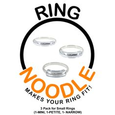RING NOODLE for THIN rings Ring Size Reducer Ring Guard Ring Size Adjuster ** You can find more details by visiting the image link. Thin Rings, Small Rings, Ring Guard, One Ring, Arts And Crafts Supplies, The Ranch, The Ordinary, Beaded Jewelry, Bead Jewelry