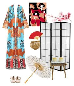 """""""Japanese Inspired"""" by eliza-redkina ❤ liked on Polyvore featuring Etro, Cult Gaia, Cultural Intrigue, Attilio Giusti Leombruni, contest, outfit, like, look and japanese"""