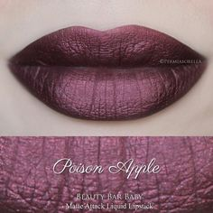 Poison Apple Liquid Lipstick Matte Attack Liquid Lipstick