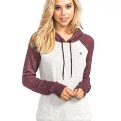 VOLCOM Lived In Womens Hoodie 237762333 | Sweatshirts & Hoodies