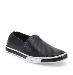 online store a8d45 2478d 128 Brand Statement Leather Slip-On Sneaker - Kenneth Cole Kenneth Cole  Sneakers, Leather