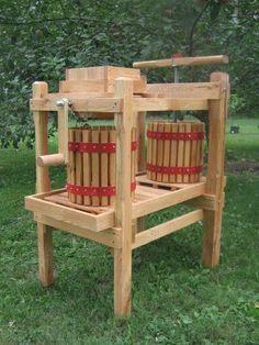 Apple Cider press and grinder