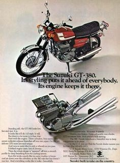 Suzuki GT380 - Classic Japanese Motorcycles - Motorcycle Classics