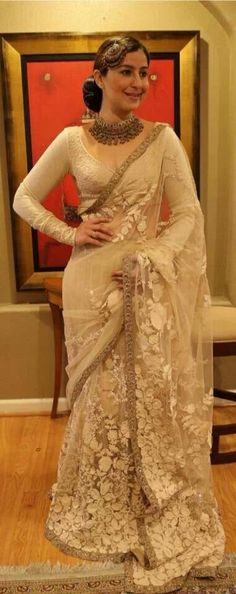 I just dont tire of looking at and pinning Sabyasachi creations. ♥