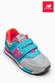Koop New Balance 574 sneaker met klittenband vandaag online bij Next: Nederland