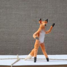 felted mr. fox