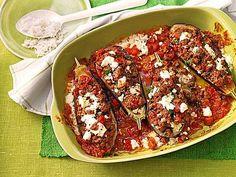 Gefüllte Auberginen auf türkische Art, ein raffiniertes Rezept aus der Kategorie Überbacken. Bewertungen: 165. Durchschnitt: Ø 4,4.