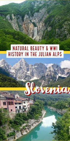 Make sure your Slovenia itinerary includes a drive through the Julian Alps, so often overlooked! From turquoise rivers to waterfalls to craggy mountain peaks, the Julian Alps combine Slovenia's most amazing natural beauty with tons of WWI history, & are an easy day trip from Ljubljana or a great way to get between destinations. From the Vrsic Pass to the Soca River, this is a must on any Slovenia trip | What to do in Slovenia, trip planning tips for #Slovenia #traveltips #itinerary