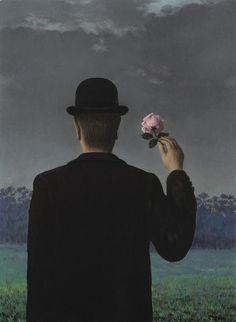 René Magritte ⎈ La Double vue (1957).