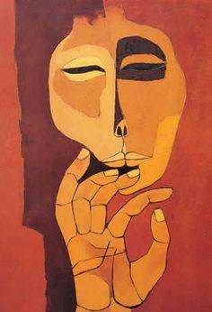 Guayasamin, his work fascinates me.