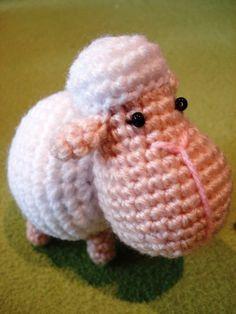 sheep amigurumi pattern (for mobile)