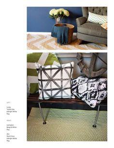 Encuentra las mejores ideas e inspiración para el hogar. Tapetes Decorativos por Luz y punto | homify
