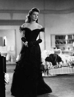 "Katharine Hepburn in ""Woman of the Year."""