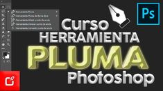 Herramienta de PLUMA en PHOTOSHOP | curso de Photoshop ⭐⭐⭐⭐⭐