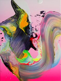 With paintings that look good enough to eat,Yago Hortalcan give you your color fix and then some...