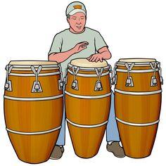 #コンガ Conga : ラテン・パーカッション。ラテン音楽、片面太鼓 Elementary Music Lessons, Body Action, Boat Art, Percussion, Musical Instruments, Human Body, Ideas Para, Salsa, Musicals