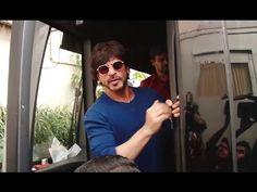 Shahrukh Khan spotted at Mehboob Studio, Mumbai.