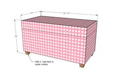 Attempting Aloha: Toy Boxes from Our Old Kitchen Cabinets