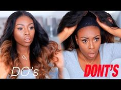 HOW I LAY /SLAY MY HAIR WEAVES, WIG & MY DOS AND DONTS [Video] - Black Hair Information