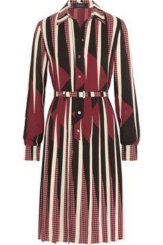 Gucci|Printed silk dress|NET-A-PORTER.COM